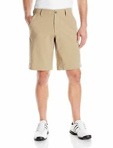 Under Armour Men's Match Play Shorts CanvasTrue Gray Heather 36