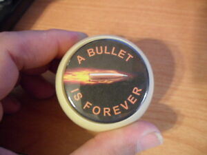 A Bullet is Forever Billiards Ball Knob for Dillon Hornady RCBS Reloading press