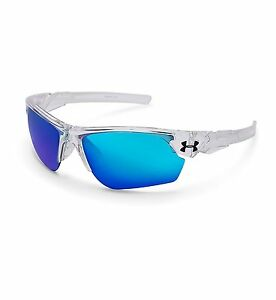 Under Armour Windup Youth Sunglasses 2017 Crystal ClearFrosted Clear GreyBlue