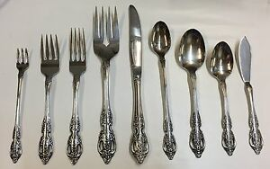 Oneida RENOIR/PEMBROOKE Stainless Flatware SSS Choice Piece Some NEW in Wrapper