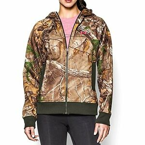 Under Armour UA Camo Full-Zip XL REALTREE AP-XTRA Camouflage Hunting New