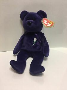 ***Very Rare Princess Diana of Wales Beanie Baby 1st Edition 1997