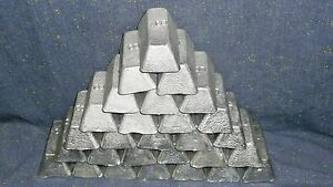 Soft Lead casting ingot 60+ Lbs pound LOT fishing Diving weight bullets