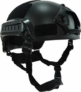 Black MICH-1A Low Price Action Version Helmet for Airsoft Paintball CS Game Helm