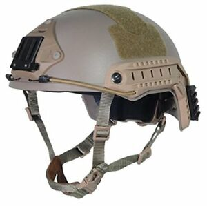 OPS-CORE FAST Helmet ABS For Airsoft Paintball Base Jump Military Helmet LXL