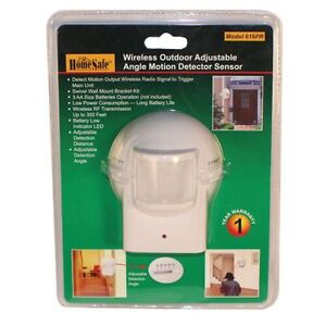 HomeSafe Outdoor Wireless Home Security Motion Sensor 616PR $19.95