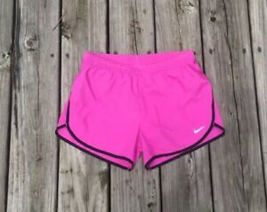 Nike NWOT Running Shorts Dri Fit Fitness Athletic Sport Pink Womens Size XSmall