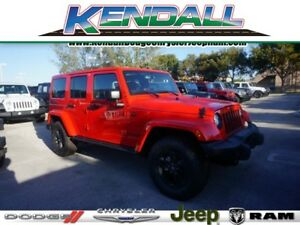 2017 Jeep Wrangler Winter Edition 2017 Jeep Wrangler Unlimited Winter Edition 12 Miles Firecracker Red Clea 4x4 Wi