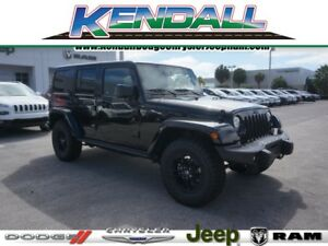 2017 Jeep Wrangler Winter Edition 2017 Jeep Wrangler Unlimited Winter Edition 13 Miles Black Clearcoat 4x4 Winter