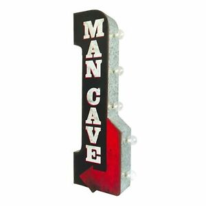 MAN CAVE With Arrow Large 30