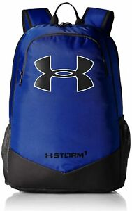 Under Armour Boys' Storm Scrimmage Backpack RoyalBlack One Size