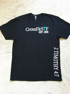 RARE CrossFit Christian Bible 2 Timothy 4:7 T-Shirt Tee JESUS CHRIST MD MSRP $30