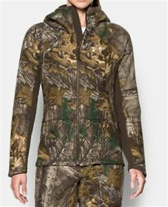 Under Armour UA Women's Stealth Hunting Hoodie Realtree Camo 1282690-947
