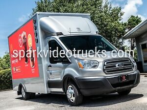 Digital Mobile Billboard video trucks - SUPER BRIGHT
