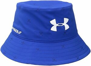 Under Armour Boys' Golf Bucket Hat Ultra BlueWhite One Size