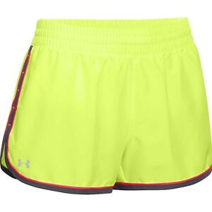 Under Armour Womens UA Great Escape Shorts II X-Large X-Ray