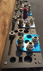 Dillon XL650 PRO model Toolhead Rack Wall Mounted 5 Toolhead With Conversion Kit