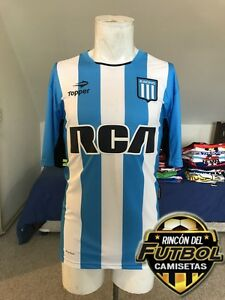 Topper Racing Club 2016 Home Argentina Jersey Size XL Fitted Dry Cool Original