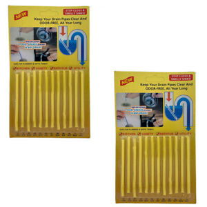 Sani Sticks 24 Pack Keeps Drains And Pipes Clear And Odor Free