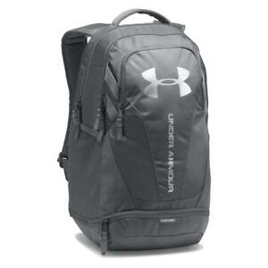 Under Armour Storm Heatgear Hustle 3.0 Backpack Bag Graphite  Silver 1294720