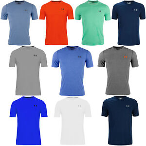 Under Armour UA Mens Threadbone Fitted Short Sleeve Gym Training T Shirt Top