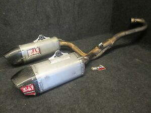 Honda CRF250 2014-2017 Used Yoshimura complete twin exhaust system CR3786