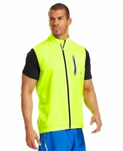 Armourvent Run Vest Men's High Vis Yellow High Vis Yellow Reflective Small New