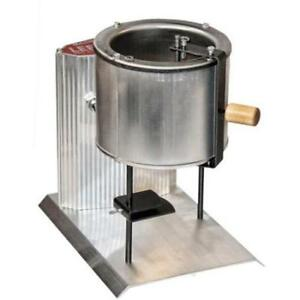 Electric Lead Melting Pot Metal Melter Furnace Casting Molds 20 Pound Spout New