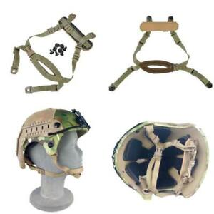 FMA 4 Points Tactical MICH ACH Helmet  Retention System Chin Strap with Bolts