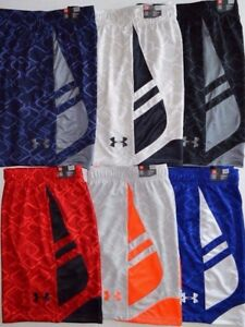 Men's Under Armour Cross Court Heat Gear Loose Fit Basketball Shorts