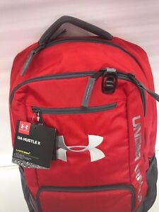 Under Armour Team Hustle Backpack 1272782 RED BRAND NEW