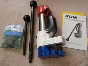 RCBS RED WHITE & BLUE SUMMIT SINGLE-STAGE RELOADING PRESS item 09292-#1481