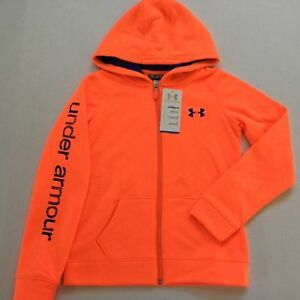 Girl's Youth Under Armour Cold Gear Loose Fit Full Zip Hoodie