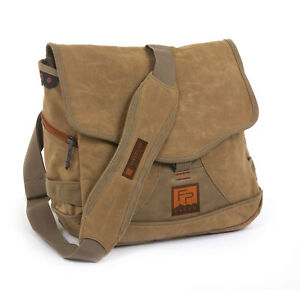 Fishpond Lodgepole Fly Fishing Travel Satchel Messenger Bag With Buckle Closure
