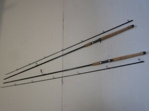 Lot 2 Lamiglas Fishing Rods Model G-1310-T and G1307 8.6Ft