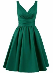 Mod Super Green Dress