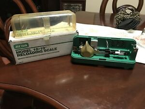 Rcbs 10.10 Reloading Scale