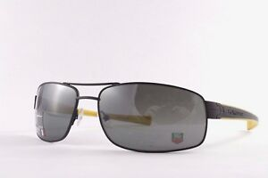 Brand New TAG Heuer Designer Sport Luxury Sunglasses 0251 111 Black Polarized