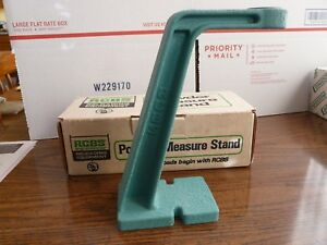 RCBS POWDER MEASURE STAND # 09030 THREADED for RCBS & REDDING POWDER MEASURES