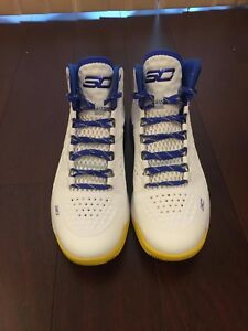 curry one dub nation size 10.5
