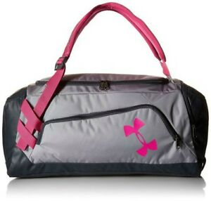 Under Armour Storm Undeniable Backpack Duffle Gym Bag Gray pink One-Size New