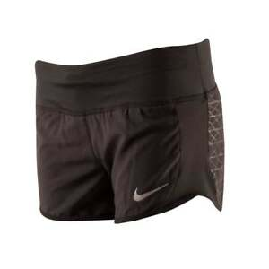 NIKE Women's Dry Graphic Shorts. Black. Small. Fully lined. New with tags.