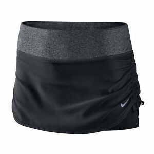 Nike Woven Rival Women's Skort Running Gym.DRI-FIT LARGE BLACK- New WTags