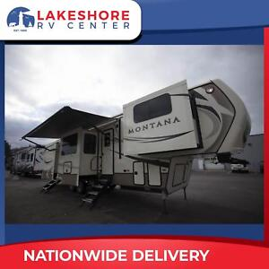 Keystone Montana 3731FL 5th Wheel new and used travel trailers for sale RVs