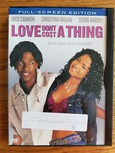 Love Dont Cost a Thing Nick Cannon Christina Milian DVD 2004 Full Screen $4.99