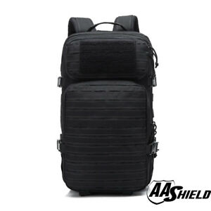 AA Shield Tactical Backpack Military Backpack Outdoor Large Travel Bag Black
