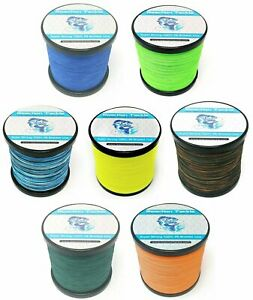 Reaction Tackle Braided Fishing Line Various Sizes and Colors $15.99