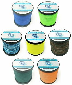 Reaction Tackle Braided Fishing Line Various Sizes and Colors