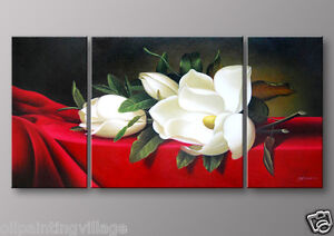Lily Oil Painting on Canvas ready to be hung Last 1 $59.99