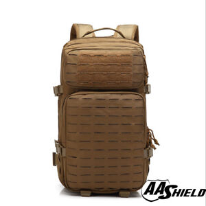 AA Shield Tactical Backpack Military Backpack Outdoor Travel Bag Coyote Brown